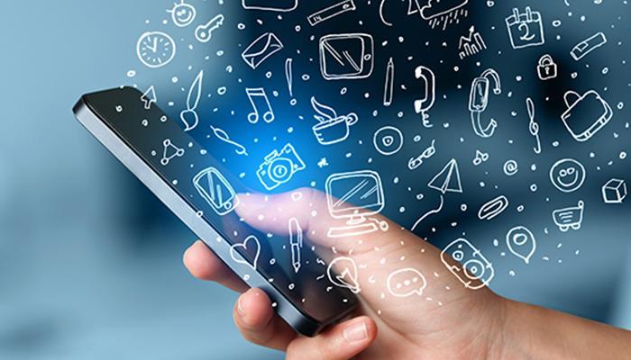 cuộc hội thoại bằng định dạng nhắn tin